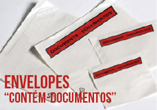 envelope contem documentos personalizado