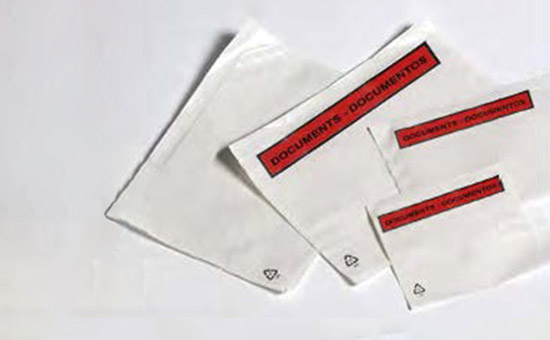 envelope packinglist